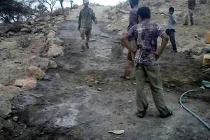 رصف طريق منطقة نجد الخديري