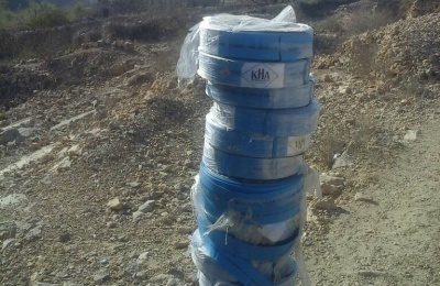 مشروع شبكة مياه منطقة الجميعي