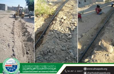 مشروع مياه قرية بيت عياض - مديرية تبن - محافظة لحج