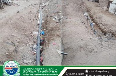 مشروع مياه حارة بستان 22 - مديرية الحوطة - محافظة لحج