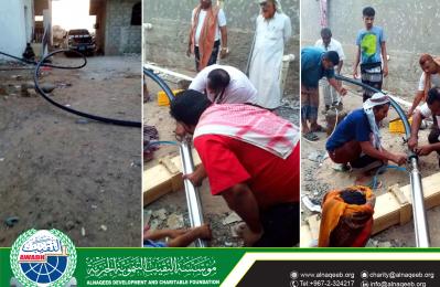 مشروع مياه حارة الرباط – مديرية الحوطة – محافظة لحج