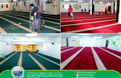 حملة تنظيف وتعقيم المساجد