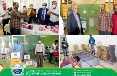 تجهيز بنك الدم في قسم الأورام بمستشفى الصداقة التعليمي