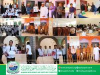برعاية:مؤسسة النقيب التنموية الخيرية - تكريم الطلاب في مسابقة القرآن الكريم والمعلمين المثالين- لبعض المدارس في م/عدن