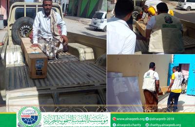 دعم مشروع مياه منطقة وحَدة - مديرية الحبيلين - محافظة لحج