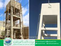 مشروع بناء خزان مياه حي ريمان - مديرية مودية - محافظة ابين