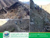 مشروع شق طريق منطقة شرف الجبري – مديرية حالمين – محافظة لحج