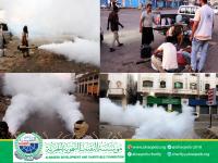 استمرار حملة الرش الضبابي - مديرية الشيخ عثمان - محافظة عدن