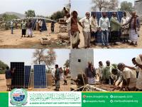 مؤسسة النقيب التنموية الخيرية تدعم مشروع مياه منطقة ملحة مديرية خنفر محافظة أبين