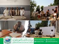 مؤسسة النقيب التنموية الخيرية ترفد مدرسة 26 سبتمبر بالخداد م/تبن بعدد من الوسائل التعليمية..